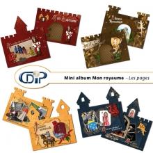 Mini-album « Mon royaume » - 01 - Les pages