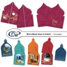 Mini-album « Sous le soleil » - 01 - Les pages