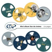 Mini-album « Star de cinéma » - 01 - Les pages