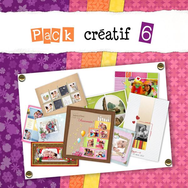 Pack créatif 6 - Patchwork