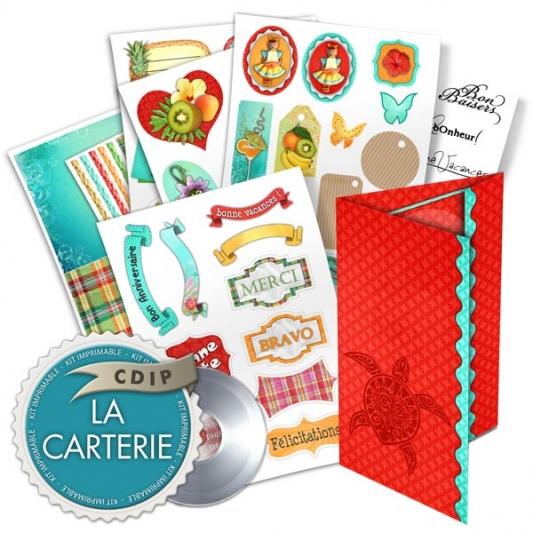 Carterie collection Cocktail fruité - 00 - Presentation