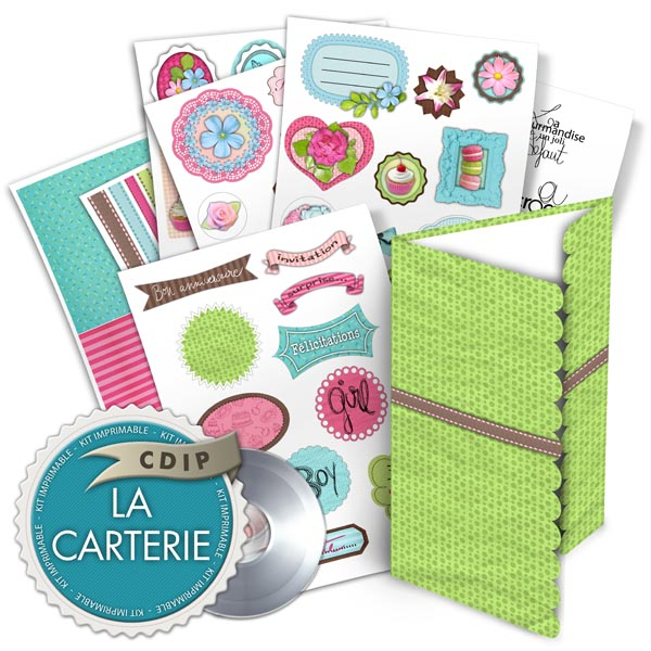 Carterie collection Jardin des delices - 00 - Presentation
