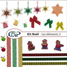 Kit « Noel » - 02 - Les embellissements 2