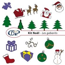 Kit « Noel » - 05 - Les gabarits 1