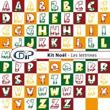 Kit « Noel » - 06 - Les lettrines