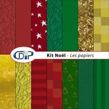 Kit « Noel » - 07 - Les textures