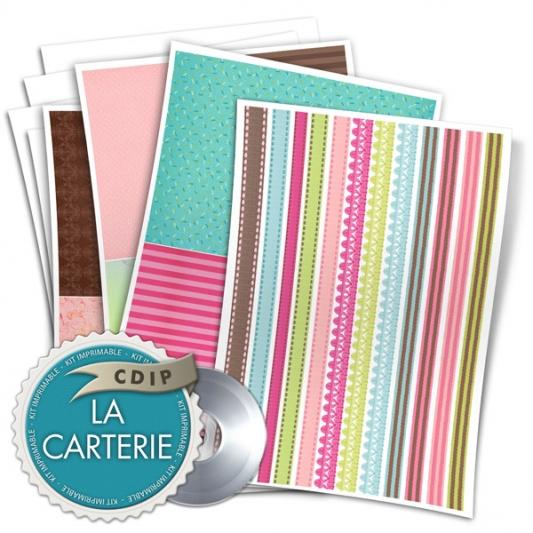 Carterie collection Jardin des delices - 04 - Presentation