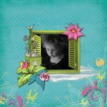 Kit « Les rêves de Prune au jardin magique » - 17 - Composition