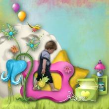 Kit « Les rêves de Prune au jardin magique » - 18 - Composition
