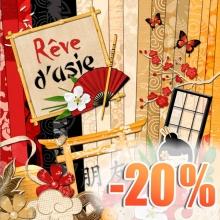 Kit « Rêve d'asie »  - 00 - Présentation - 20 ans