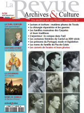 La revue archives et culture - 29