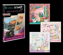 SS7D- 01 - Studio-Scrap 7 -  3 kits - coffret