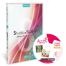 Studio-Scrap 8 + Pack Azza 3 - Orient-Express en coffret
