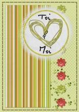 Modèle de carte « Cartes d'amour » - 24 - Compositon