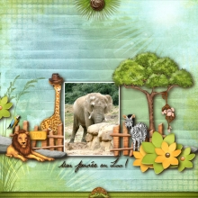 Kit « Bienvenue au zoo » - 11 - Composition