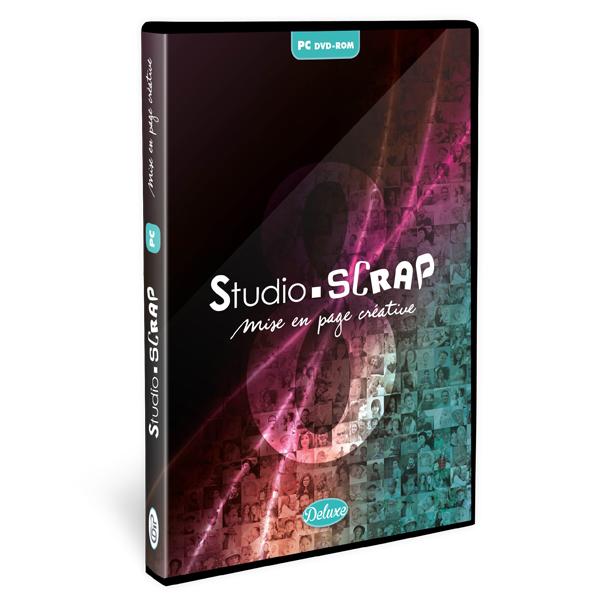 Studio-Scrap 8 Deluxe en coffret