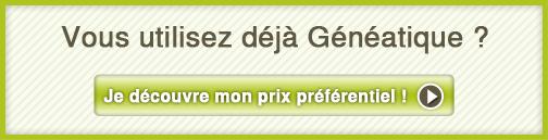Prix préférentiel Généatique