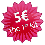 5€ the first kit