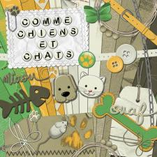 Kit « Comme chiens et chats »