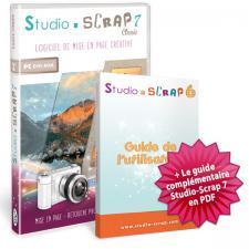 Studio-Scrap 7 Classic en coffret + Guide de l'utilisateur 6 et le guide complém
