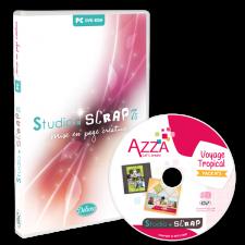 Studio-Scrap 7.5 + Pack Azza 3 en coffret