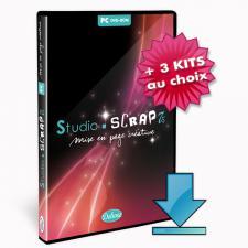 Studio-Scrap Deluxe + 3 kits à choisir plus tard en télécharg