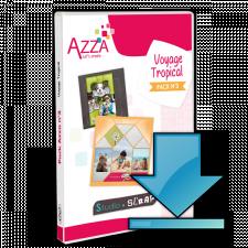 Pack Azza n°3 - Voyage Tropical - Scrapbooking