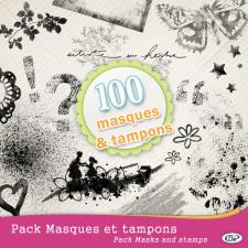 Pack masques et tampons