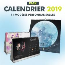 "Pack ""Calendriers 2019"""