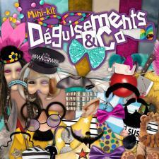 Mini-kit « Déguisements & compagnie »