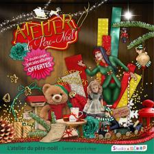 Kit « L'atelier du Père Noël »