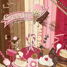 « Greediness » digital kit