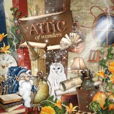 "Digital kit ""Attic of wonders"""