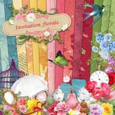 Kit « Invitation florale »