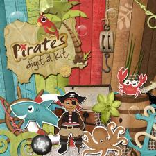 « Pirates » digital kit
