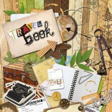 "Digital kit ""Travel book"""