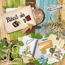 Kit « Récit de voyage »