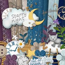 """Starry Night"" digital kit"