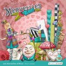 Kit « Les merveilles d'Alice »