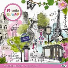 Kit romance paris en t l chargement cdip boutique - Boutique scrapbooking paris ...