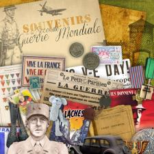 Kit « Souvenirs de la Seconde Guerre Mondiale »