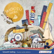 "Digital kit ""Smooth Sailing"""