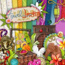 "Digital kit ""Travel to India"""