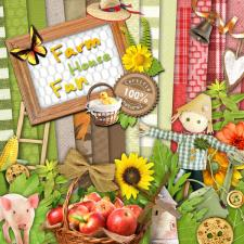 Digital kit « Farmhouse fun »