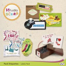 "Mini-Pack de stickers ""Rangements et organisation"""