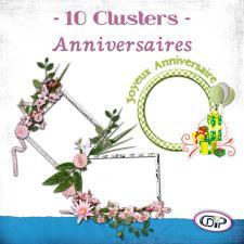 Pack Clusters « Anniversaires »