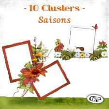 Pack Clusters « Saisons »