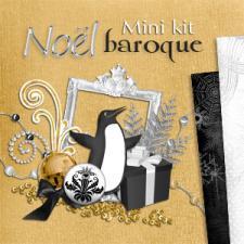 """Mini-kit """"Noel Baroque"""" par téléchargement"""