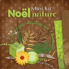 """Mini-kit """"Noel Nature"""" par téléchargement"""