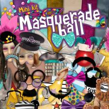 "Mini kit ""Masquerade Ball"""